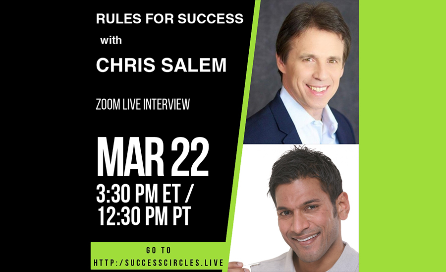 Rules for Success Episode 1 with Chris Salem