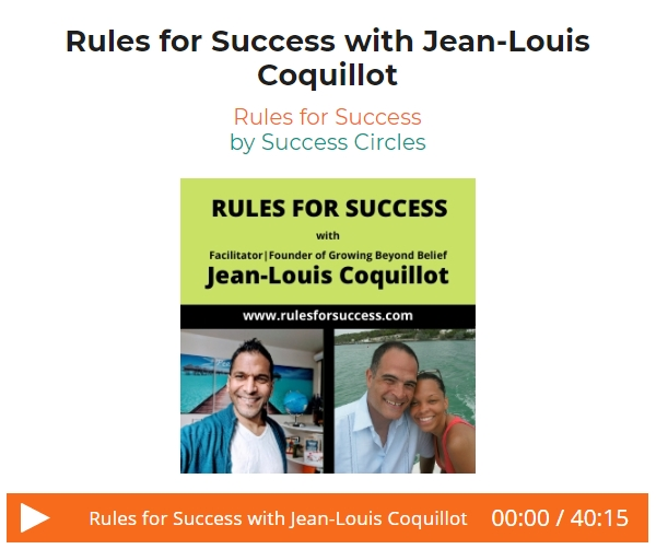 Rules for Success Jean-Louis Coquillot Audio