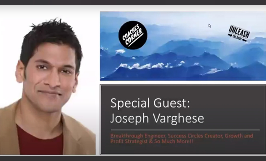 David Rush interviews Joseph Varghese about Accountability Partners