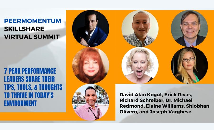 Watch the PeerMomentum Skillshare Virtual Summit Replay