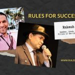 Rules For Success with Rakesh Mishra Blog Header