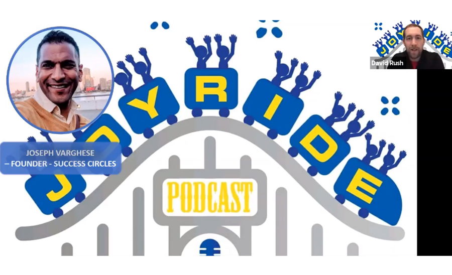 Joseph Varghese on the Joyride Podcast
