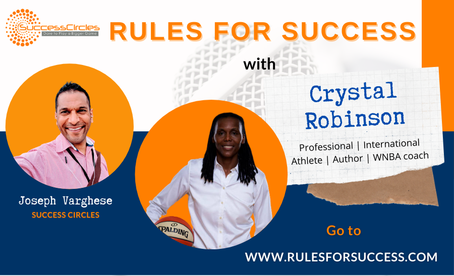 Rules for Success with Crystal Robinson